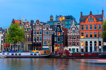 Amsterdam is so beautiful, especially along the canals