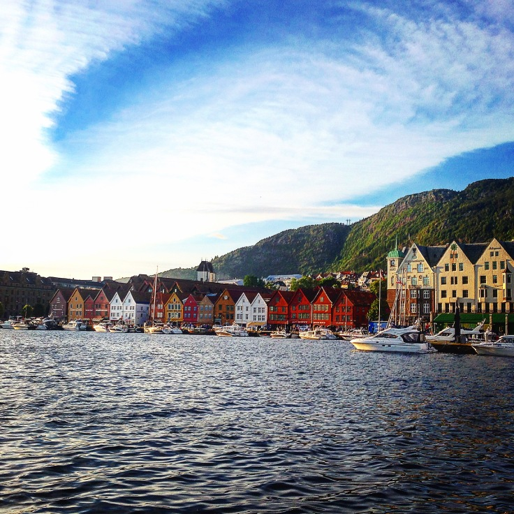 Bergen Harbor Medieval Houses