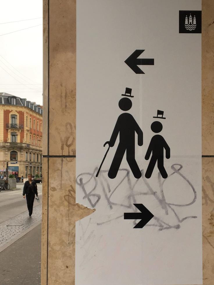Adorable Danish Graffiti in Copenhagen