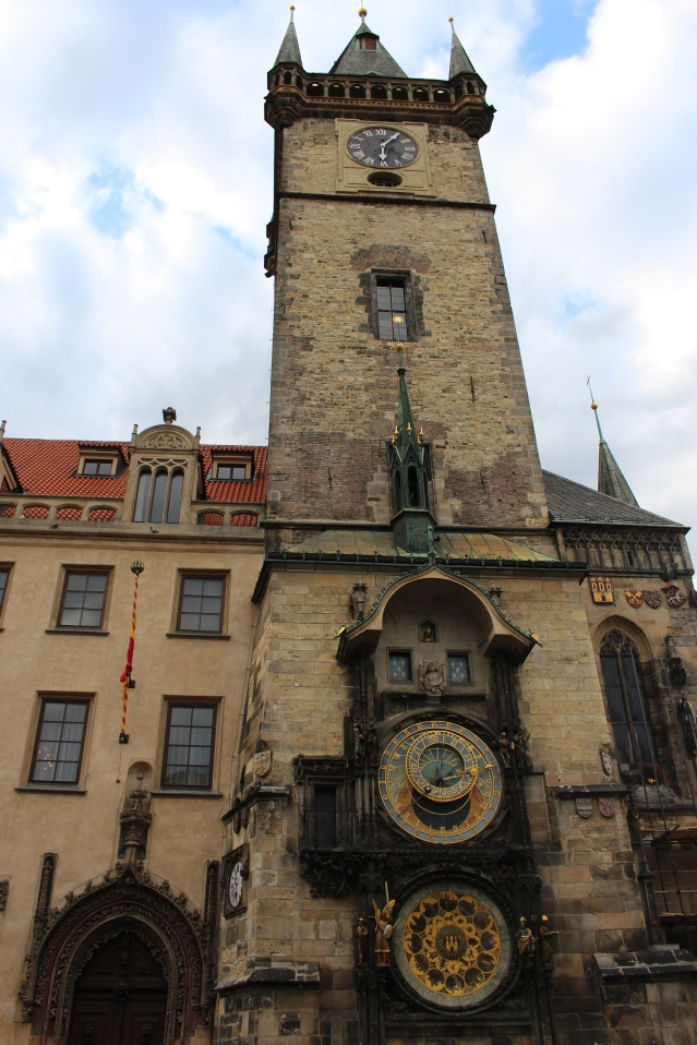 Astronomical Clock in Prague Old Town Square