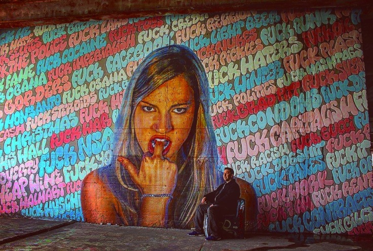 Teufelsberg Germany Graffiti Art NSA spy building
