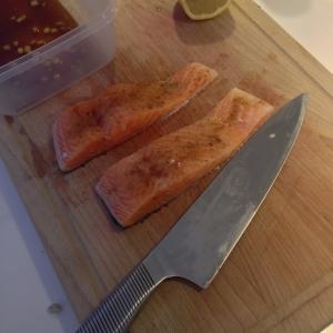 Orange Ginger Soy Salmon