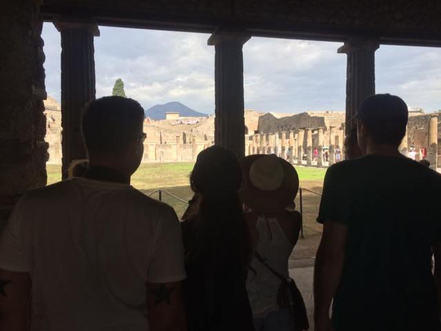 Napoli, Naples, Pompeii, Vesuvius, Italy, Italia