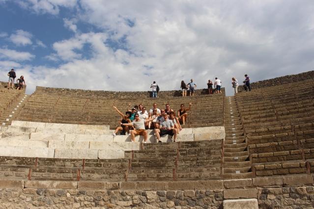 Pompeii ampitheatre of Pompeii